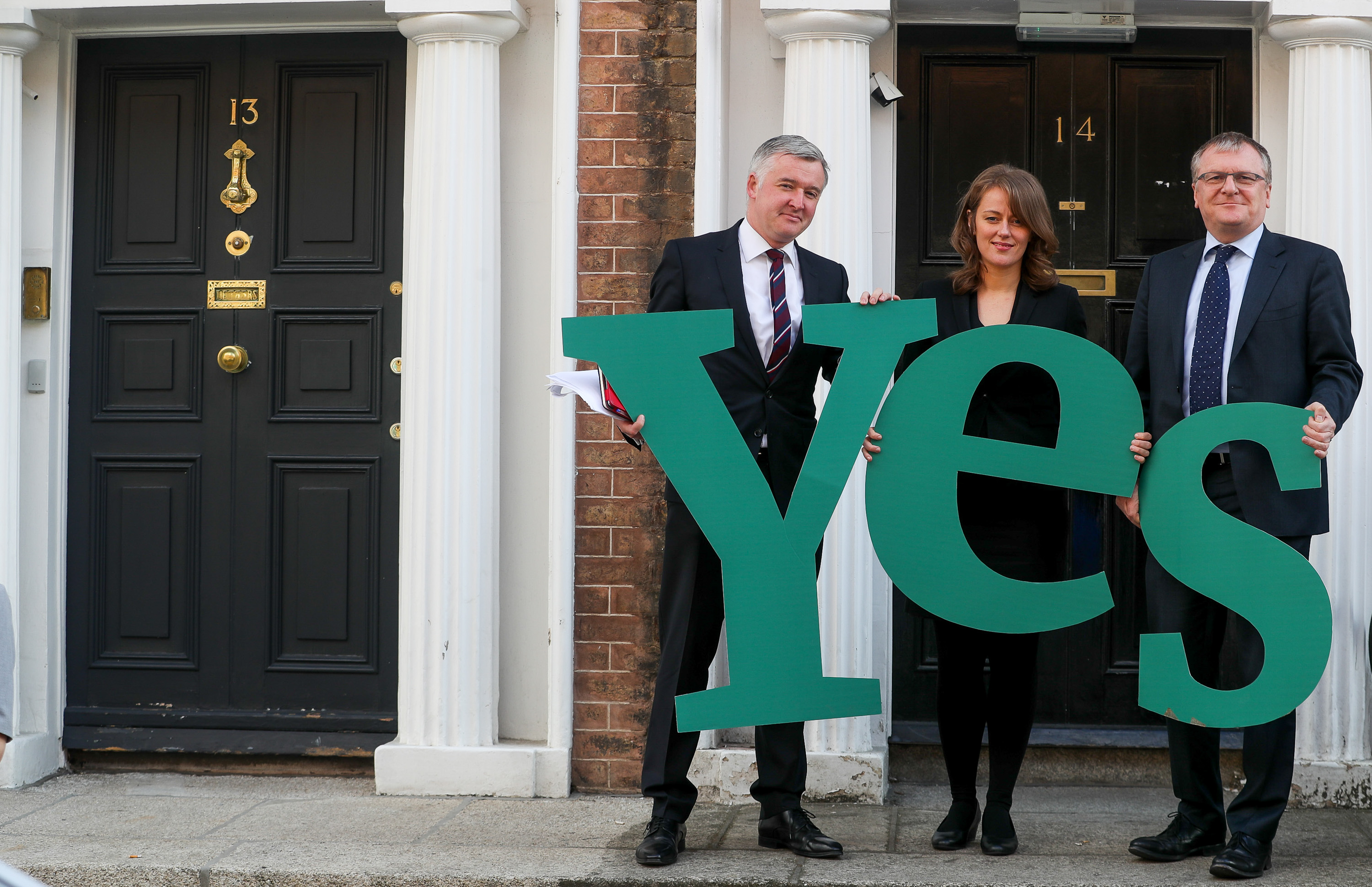 Lawyers fro Yes press image